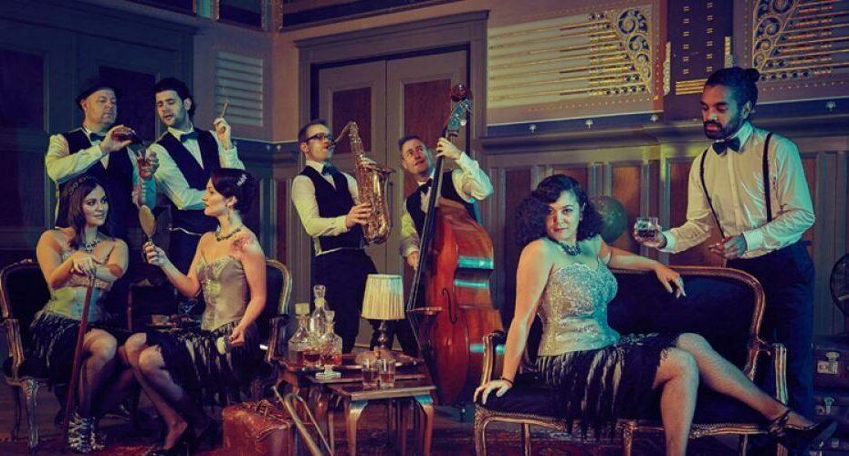 akoestische vintage band gatsby